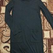 трикотажное красивое платье