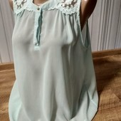 Блузка Only колір м'яти