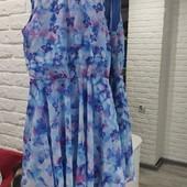 Платье шифоновое новое для девочки 11-12 лет H&M