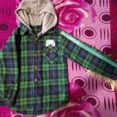Куртка- сорочка 110см