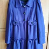Пальто женское river island ( цвет фиолетовый)