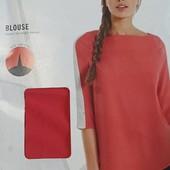 Яркая блуза рубашка esmara 36 euro, наш 42-44