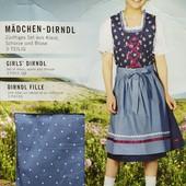 ЦЦ5.Костюм народный, баварский платье 146 pepperts
