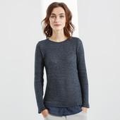 Комбинированный легкий свитерок от Tchibo Германия размер евро 36/38 (укр 44/46)