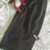 Шикарная дорогая, фирменная юбка-макси р.38