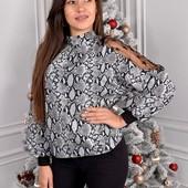 МЕГА красивая блузка!! Турецкий софт.