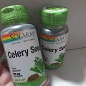 Артрит, подагра, воспаление - семена сельдерея, 505 мг, 100 капсул, Америка