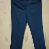 Темно синие класические брюки