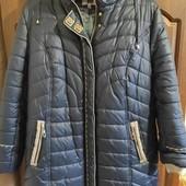Женская демисезонная куртка 56-58 размера