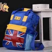 Розпродаж. Дитячий рюкзак-сумка голубий