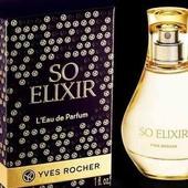 Парфюмированная вода ив роше so elixir yves rocher 30 мл