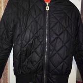 Модная демисезонная курточка ромб м-л
