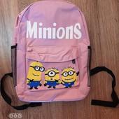 Рюкзак Миньйоны (светло розовый)