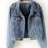 Шикарная джинсовая куртка!!!