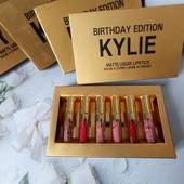 Набор жидких матовых помад Kylie, 6 шт в упаковке
