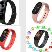 Фитнес-браслет M5 Band Smart Watch шагомер, фитнес трекер, пульс, монитор сна, магнитная зарядка