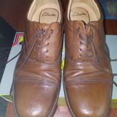 Туфли кожа Clarks 45 размер