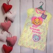 Красивые платья для дома и сна Nickelodeon от Nutmeg 3-5л, качество, на лето супер!