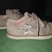 Модные, удобные, натуральные туфельки-кроссовки Lurchi! Стелька 21см