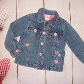 Джинсовый пиджак 2-4г