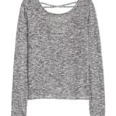 H&M Серый демисезонный свитер джемпер _XS_К(00-608-3-13_010)