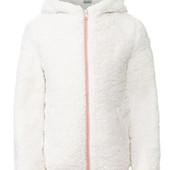 Детская куртка Pepperts для девочек, с капюшоном и карманами