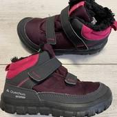 Отличные термо ботиночки Quechua в идеальном состоянии, 29 размер стелька 18,5 см .