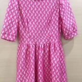 Zara платье  нарядное рукав 3/4, L 44-46