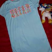 Домашнее платье,ночнушечка на девочку 9-10 лет
