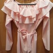Шикарная нарядная блузка