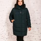 Супер-цена! Последние размеры! Стильная чёрная куртка, 52, 54, 56, 58 рр! (на 60-62!), 2 модели!