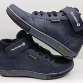 Новинка!!!!Кожаные деми_ботиночки-кроссовки (32,33,34)унисекс
