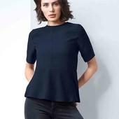 Стильная элегантная офисная блуза 40евро(46-48р наш) Tchibo(Германия)   смотрите замеры