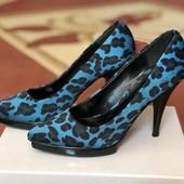 Туфли в леопардовый принт, р.37 (23,5 см)