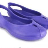 Аналог Crocs фиолетовый 41р супер модель женских шлепок-балеток! Для дачи, дома, бассейна, моря.