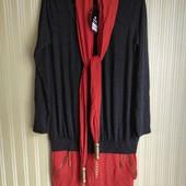 Платье с шарфиком, л-хл