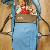 Сумка переноска для младенцев + конверт