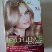 Краска для волос L'Oreal Paris Excellence тон 8.12 мистический блонд ук-10%