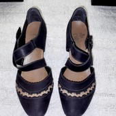 Туфли Rieker натуральная кожа стелька 24,5 см