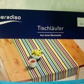 Meradiso Германия Качественный яркий плотный раннер 100% коттон 50*150см
