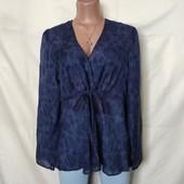 Лёгенькая фирменная блузочка, грудь-112