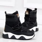 По супер-цене! Зимние ботинки на платформе
