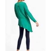 Нарядная блуза асимметрия