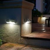 Настенный уличный Led светильник на солнечной батарее с датчиком движения и сумерек Livarno Lux