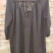 Esmara батистовая блуза с кружевной отделкой 44 L