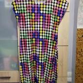 Яркое платье, размер L.