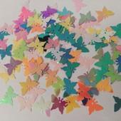 Бабочки ассорти 300шт
