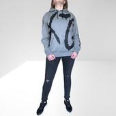 Толстовка с начесом,известный шведский бренд H&M размер М,Оригинал!