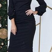 Шик!!! Нарядное элегантное платье! Миди.