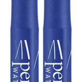 Подводка-фломастер для глаз Luxvisage Perfect color waterproof matt finish, синяя